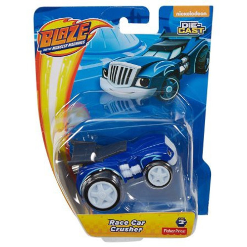 Fisher Price Blaze & the Monster Machines Race Car Crusher Diecast Car