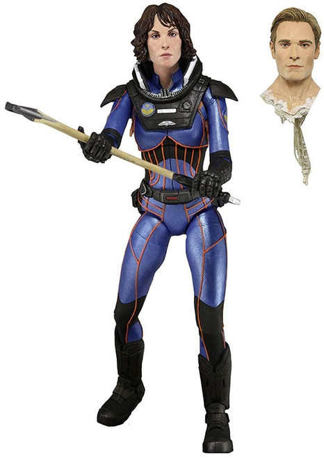 NECA Prometheus Series 4 The Lost Wave Dr. Elizabeth Shaw Action Figure