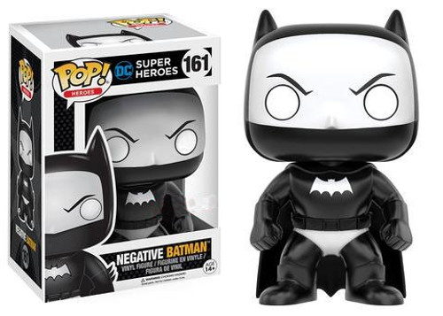 Funko DC POP! Heroes Negative Batman Exclusive Vinyl Figure #161