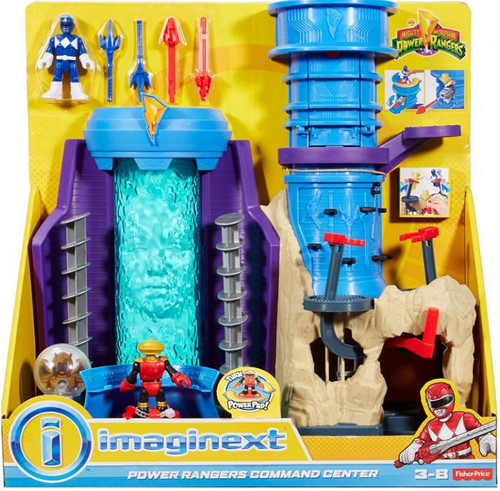 Fisher Price Imaginext Power Rangers Command Center Playset