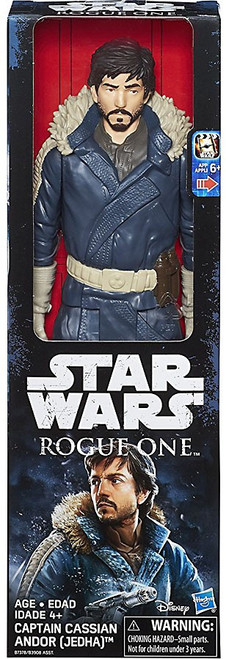 Star Wars Rogue One Captain Cassian Andor Deluxe Action Figure