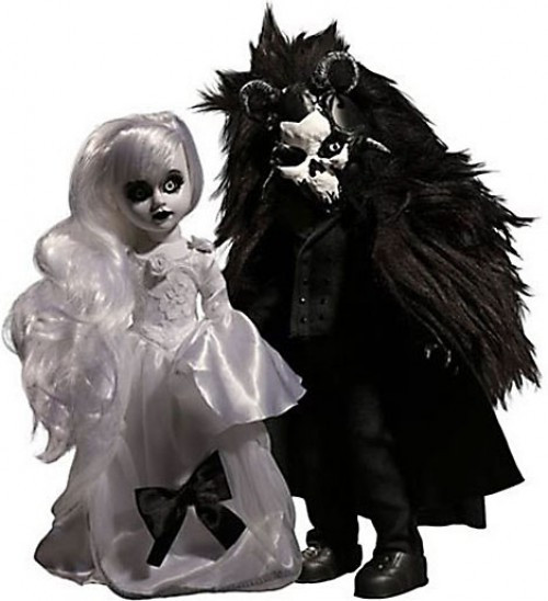 Living Dead Dolls Scary Tales Beauty & The Beast 10-Inch Doll 2-Pack