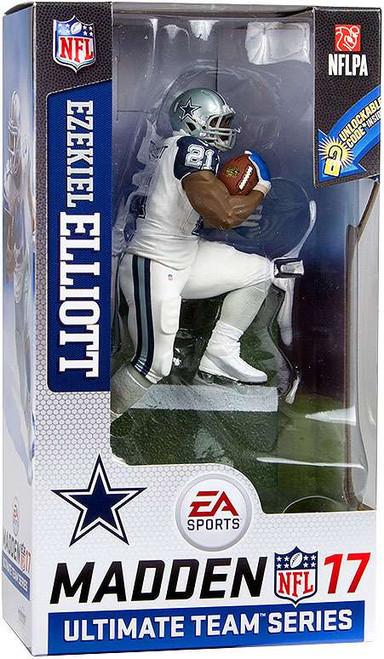 McFarlane Toys NFL Dallas Cowboys EA Sports Madden 17 Ultimate Team Series 2 Ezekiel Elliott Action Figure [Color Rush Uniform - White Pants]