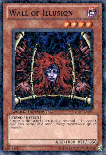 YuGiOh Duel Terminal 4 Duel Terminal Normal Parallel Rare Wall of Illusion DT04-EN057