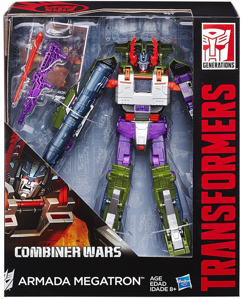 Transformers Generations Combiner Wars Armada Megatron Leader Action Figure [Damaged Package, Mint Figures]