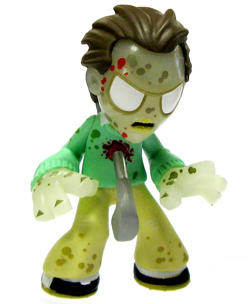 Funko The Walking Dead Series 3 Mystery Minis Impaled Golf Walker 1/36 Rare Mystery Minifigure [Glow-in-the-Dark Loose]