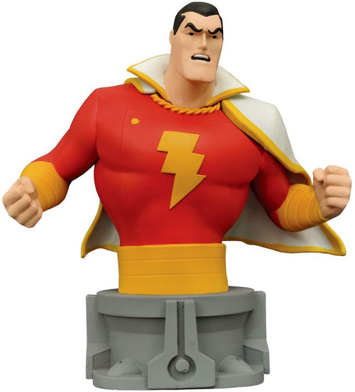 DC JLA Animated Series Shazam 6-Inch Bust
