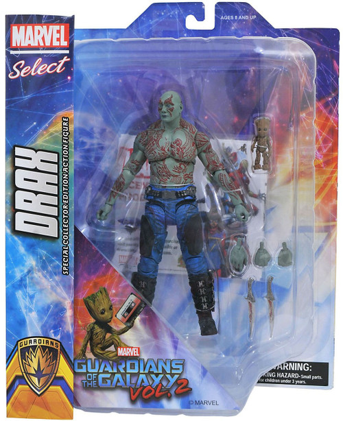 Guardians of the Galaxy Marvel Select Drax & Baby Groot Action Figure