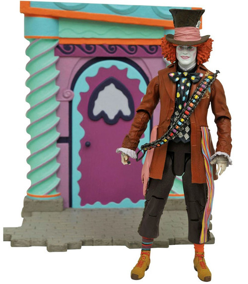 Alice in Wonderland Through the Looking Glass Select Red Hatter Exclusive Action Figure