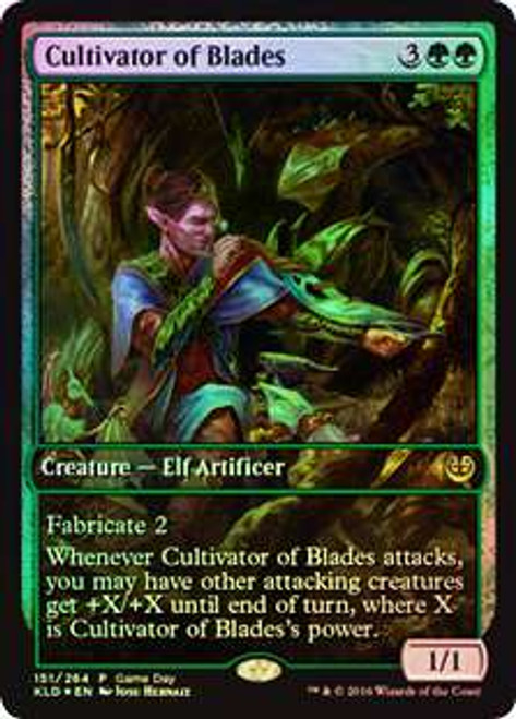 MtG Promo Cards Promo Cultivator of Blades [Game Day]