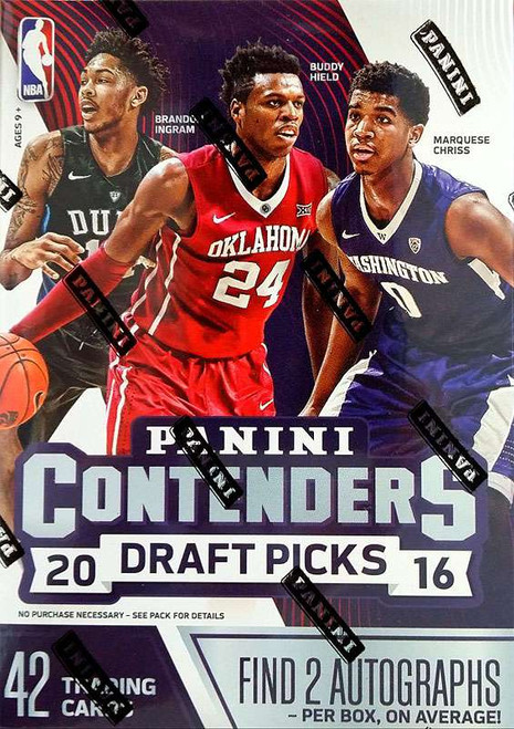 NBA Panini 2016-17 Contenders Basketball Trading Card BLASTER Box [2 Autographs Per Box On Average!]