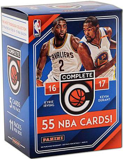 NBA Panini 2016-17 Complete Basketball Trading Card BLASTER Box [11 Packs]