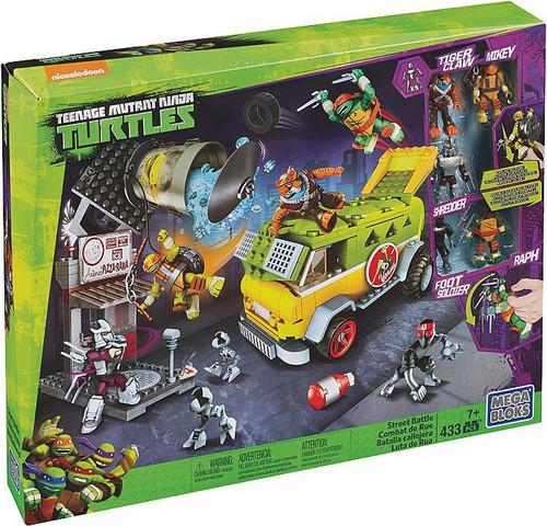 Mega Bloks Teenage Mutant Ninja Turtles Street Battle Exclusive Set DPY26