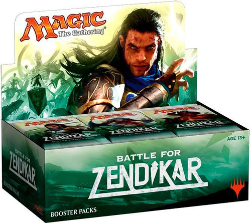 MtG Trading Card Game Battle for Zendikar Booster Box [Chinese]