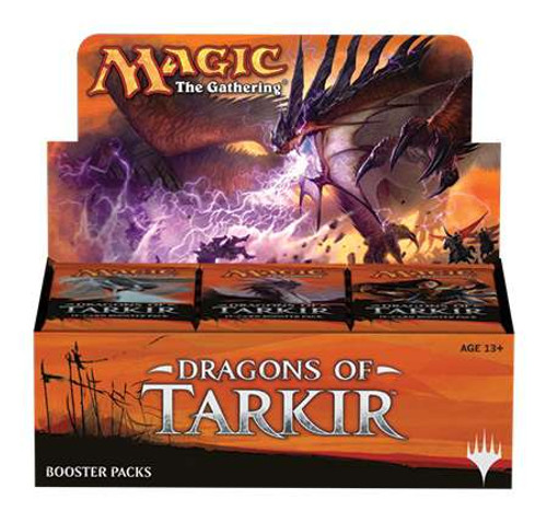 MtG Trading Card Game Dragons of Tarkir Booster Box [Korean]