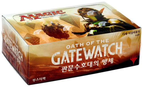 MtG Trading Card Game Oath of the Gatewatch Booster Box [Korean]