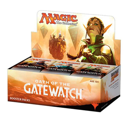 MtG Trading Card Game Oath of the Gatewatch Booster Box [Russian]