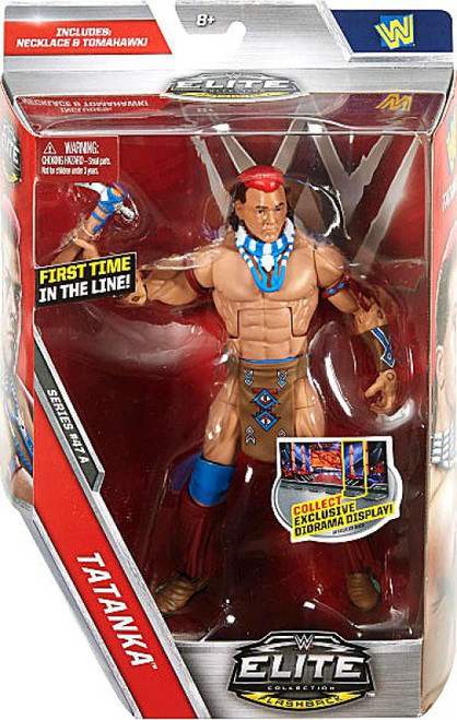 WWE Wrestling Elite Collection Series 47 Tatanka Action Figure [Necklace & Tomahawk]