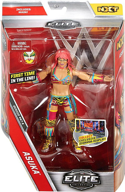 WWE Wrestling Elite Collection Series 47 Asuka Action Figure [Mask]