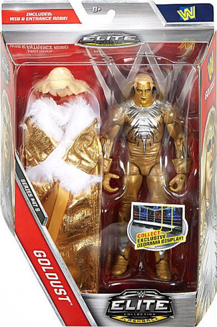 WWE Wrestling Elite Collection Series 47.5 Goldust Action Figure [Wig & Entrance Robe]