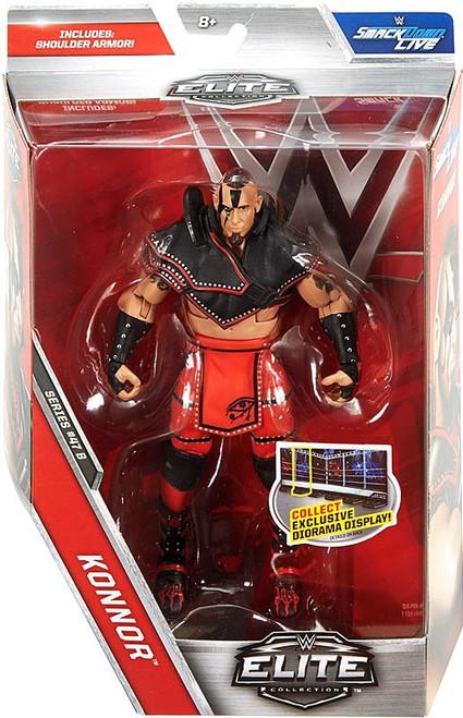 WWE Wrestling Elite Collection Series 47.5 Konnor Action Figure [Shoulder Armor]