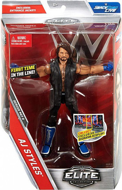 WWE Wrestling Elite Collection Series 47 AJ Styles Action Figure [Entrance Jacket]