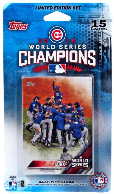 MLB Topps 2016 Chicago Cubs World Series Championship Team Set