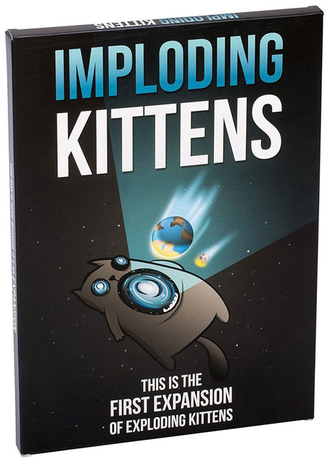 Exploding Kittens Imploding Kittens Card Game Expansion