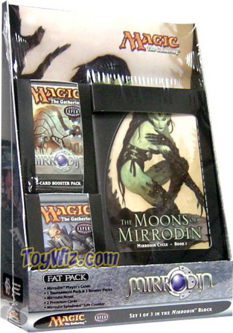 MtG Trading Card Game Mirrodin Fat Pack