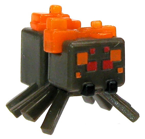 Minecraft Burning Spider 1-Inch Mini Figure [Loose]