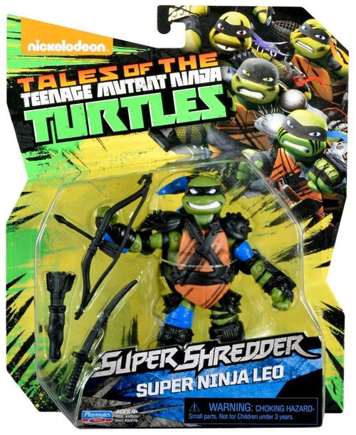 Teenage Mutant Ninja Turtles Tales of the TMNT Super Shredder Super Ninja Leo Action Figure