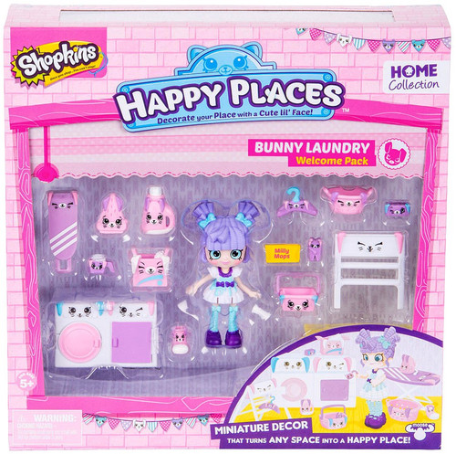 Shopkins Happy Places Series 2 Bunny Laundry Welcome Pack [Milly Mops]