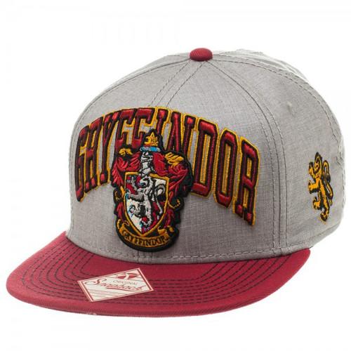 Harry Potter Gryffindor Crest Snapback Cap Apparel