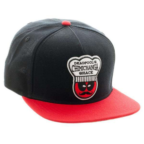 Marvel Deadpool Chimichanga Snapback Cap Apparel