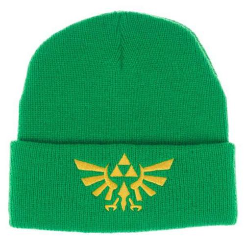 The Legend of Zelda Zelda Logo Green Single Layer Cuff Beanie Apparel