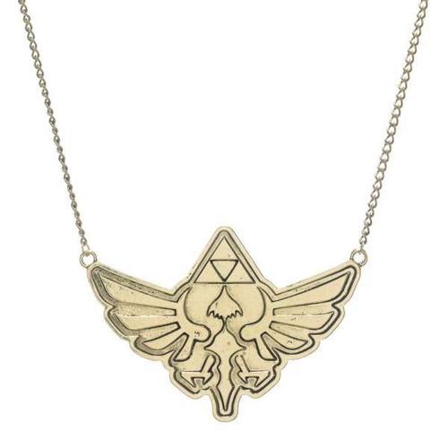 The Legend of Zelda Zelda Logo Necklace Apparel