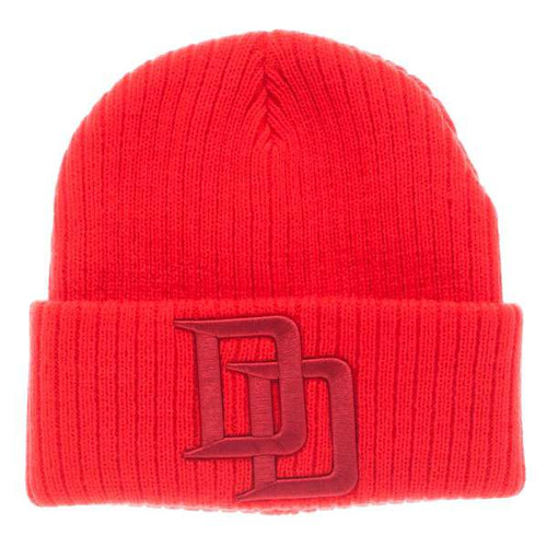 Marvel Daredevil Red Cuff Beanie Apparel