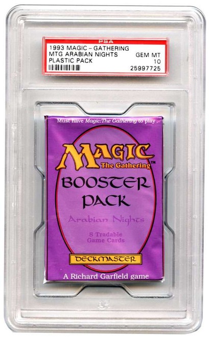MtG Trading Card Game Arabian Nights Booster Pack [Graded PSA 10 25997725]
