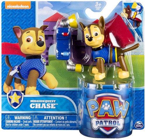 Paw Patrol Mission Quest Chase Figure