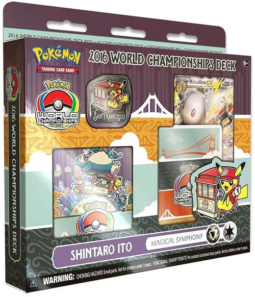 Pokemon Trading Card Game 2016 World Championships Shintaro Ito Magical Symphony Deck Starter Deck