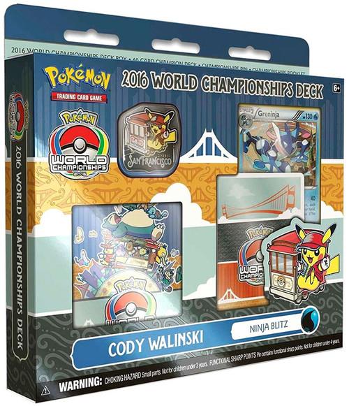 Pokemon Trading Card Game 2016 World Championships Ninja Blitz Deck Starter Deck