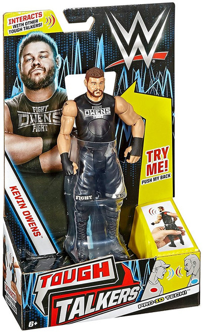 WWE Wrestling Tough Talkers Kevin Owens Action Figure