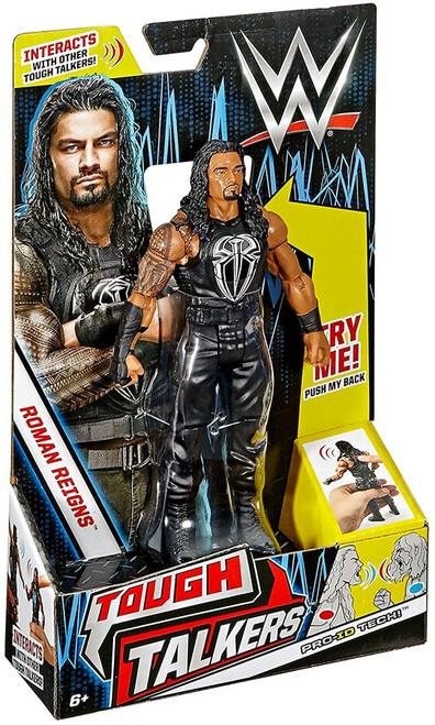 WWE Wrestling Tough Talkers Roman Reigns Action Figure