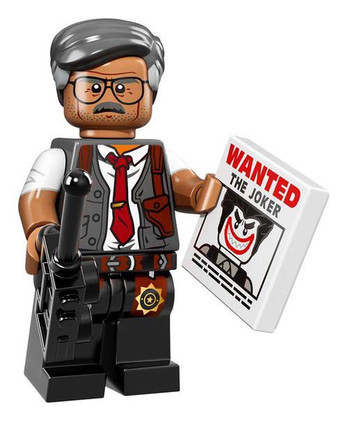 DC LEGO Batman Movie Commissioner Gordon Minifigure [Loose]