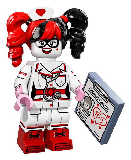 DC LEGO Batman Movie Harley Quinn Minifigure [Nurse Loose]