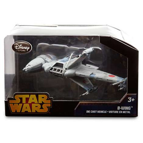 Disney Star Wars Return of the Jedi B-Wing Exclusive Diecast Vehicle [Black Box, Damaged Package]
