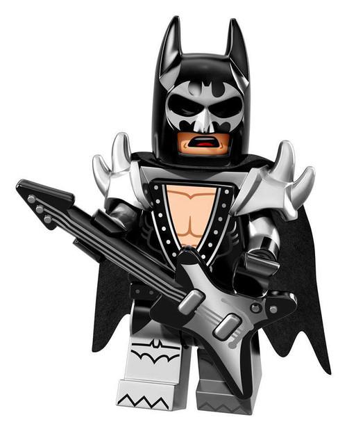 DC LEGO Batman Movie Glam Metal Batman Minifigure [Loose]