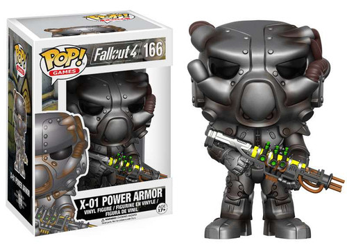 Funko Fallout 4 POP! Games X-01 Power Armor Vinyl Figure #166