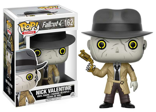 Funko Fallout 4 POP! Games Nick Valentine Vinyl Figure #162