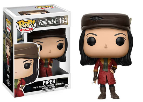 Funko Fallout 4 POP! Games Piper Vinyl Figure #164 [F4]
